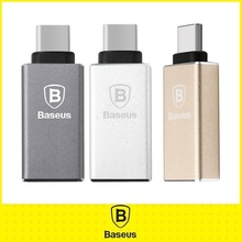 Original Baseus Mini USB Type C to USB Adapter Metal 3.1 Type-C Connect For Apple Macbooke Google Chromebook Oneplus Cable