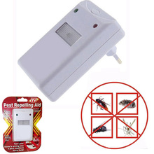 Electronic Ultrasonic Rat Mouse Repellent Anti Mosquito Repeller Rodent Pest Bug Reject Mole Repeller EU plug(China)