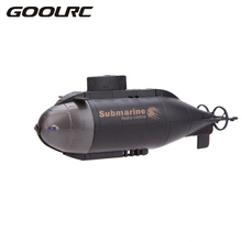 GOOLRC RC Submarines Men Boy Toys Mini Light Racing RC Submarine B oat Electric 777-216 40MHz Transmitter Machine Remote Control(China)