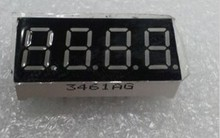 "Free Shipping 10PCS 3461AG 4 Digit 0.36"" GREEN 7 SEGMENT LED DISPLAY COMMON CATHODE"