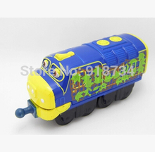 100% original!!! Learning Curve Chuggington Diecast Train Toy RAILWAY BREWSTER T9 free shipping