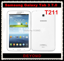 "Samsung Galaxy Tab 3 7.0 T211 Original Unlocked Android 3G Dual-core Mobile Phone Tablet 7.0"" WIFI GPS 3.2MP 8GB Dropshipping"
