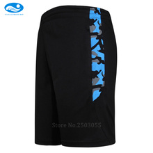2016 17 New Sport Soccer Short Trousers Football Training Shorts Mens Running Jogging Zipper Pockets Soccer Basketball Shorts(China)