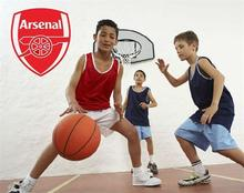 Arsenal football team logo vinyl wall stickers E-cro friendly wall stickers for kids room home decor &