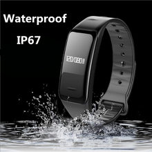Buy SMARCENT Bluetooth Fitness Tracker Smart Band Blood Pressure Heart Rate Sleep Monitor Smartband Wristband Bracelet PK mi band 2 for $11.37 in AliExpress store