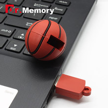 cartoon Basketball Football usb flash drive 4GB 8GB 16GB 32GB sport memory stick ball Pen drive mini usb disk USB 2.0 gift