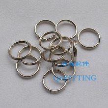 100pcs/lot DIY fashion jewelry Accessory,Metal Connectors,Alloy Material Loop,15MM Diameter,Rhodium Plating