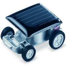 Solar mini Car toy The Smallest Solar Powered Car Educational Solar Powered Toy for Children Gifts(China)