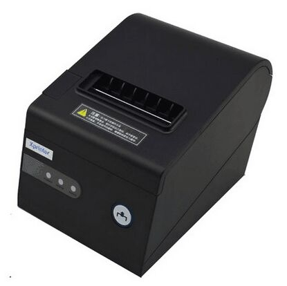 XPrinter thermal receipt printer automatic cutting machine printing USB Network(LAN) Serial three ports Integrated in a  printer<br><br>Aliexpress