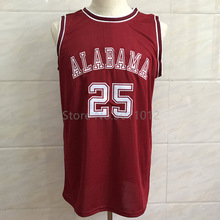 ROBERT HORRY ALABAMA CRIMSON TIDE #25 BASKETBALL JERSEY Red Stitched Custom any Number and name Jerseys(China)