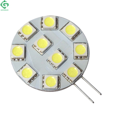 G4 2W LED Bulbs Candle Lights 24V 12V Dimmable PWM Equal 15W Halogen Lamp For Car Auto Driving Boat Truck Marine Led Lighting(China)