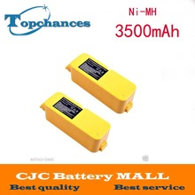 2PCS 3.5Ah Vacuum Cleaner Battery for iRobot Roomba 4905 4000 4130 4230 Discovery