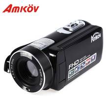 Original Amkov AMK-DV161 24MP HD Digital DV Video Camera 2.7'' TFT Support SD Card DV Video Camera Professional Photo Camera(China)