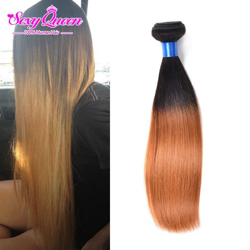 Best Sale Two Tone Peruvian Human Hair Straight Cheap Remy 100 Human Hair Weave Sexy Queen Peruvian Straight Virgin Hair Ombre<br><br>Aliexpress