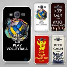 keep calm do something Hard White Case Cover for Samsung Galaxy J1 J2 J3 J5 J7 C5 C7 C9 E5 E7 2016