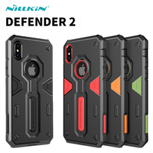Buy Apple iPhone X case Nillkin Defender 2 Luxury TPU+PC Armor Anti-knock Phone Back Cover iPhone X 10 Case Capa iPhoneX for $9.89 in AliExpress store