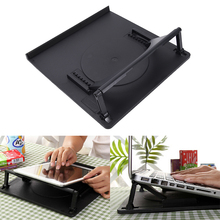 Laptop Holder Cooling 360 Degree Rotation Stand Mount Notebook Table Desk Swivel(China)