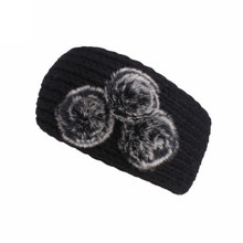 FEITONG High Recommend Classics Women Knitting Headband Handmade Keep Warm Hairband elastic hair accesories de cabelo para(China)