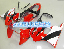 ZX6R 00-02 Fairing body kits for Kawasaki Ninja ZX-6R 00 01 02 ZX6R 636 red black white ZX 6R 2000-2002 motorcycle fairings set(China)