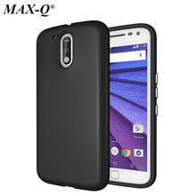 For Moto G4 G4 Plus Z&Z Driod Case MAX-Q Brand TPU+PC Hybrid Protective Cover for Motorola G5 Z Force Case Cover Fundas G5 Plus