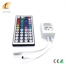 Brand NEW DC12V 44 Keys IR Remote RGB Controller for SMD3528/5050/5730/5630/3014 RGB LED Strip lights Mini Controller