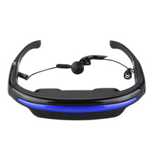 Portable Multimedia Player 52 Inch 4:3 Virtual Screen Video Glasses Eyewear 3D Stereo Personal Theater