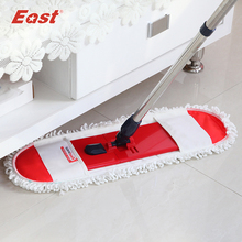 East Cleaning tools floor telescopic rotation mop pole cotton cloth towel mop floor cleaning(China)