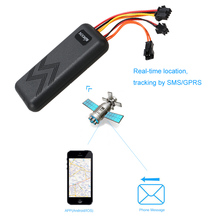 KKmoon GT06 GPS Real Time Tracker Car Motorcycle Electric Bike GSM GPRS Vehicle Tracking Device(China)