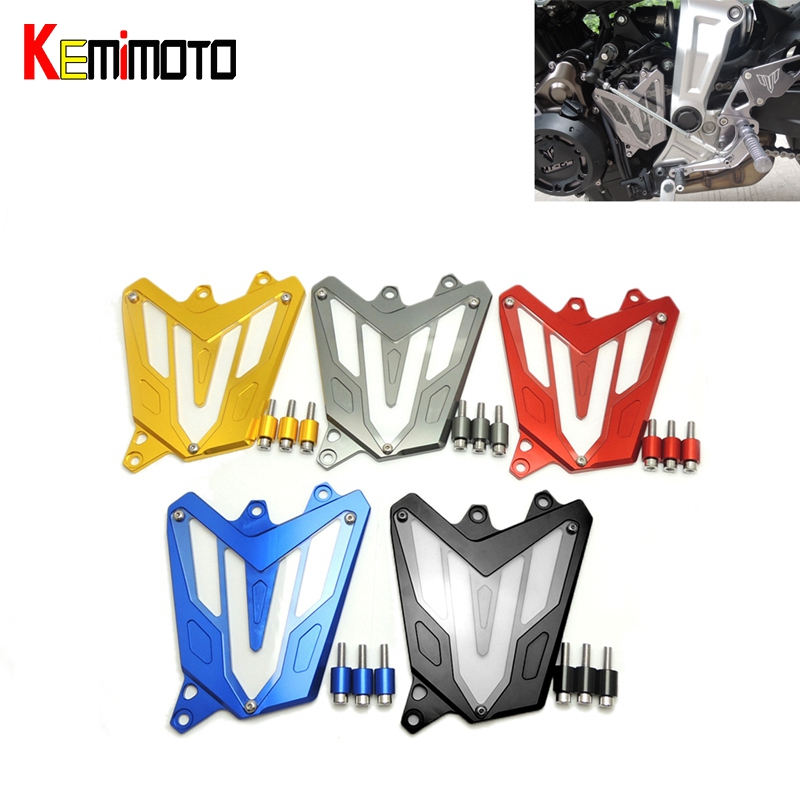 For YAMAHA MT-07 FZ-07 MT07 CNC Aluminum Front Sprocket Cover Motorcycle Part for Yamaha MT07 FZ07 2014 2015 2016 100% Brand New(China)