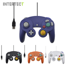 Wired Joystick for Nintendo Gamecube Console Handheld For NGC For Wii Controller with USB or GC Port For PC For MAC Computer Pad