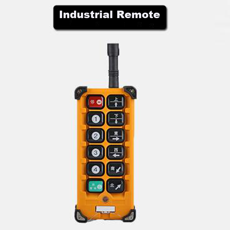Quality Assurance Radio Remote Control F23-A Industrial Remote Control Hoist Crane Push Button Switch 1 Transmitter<br>
