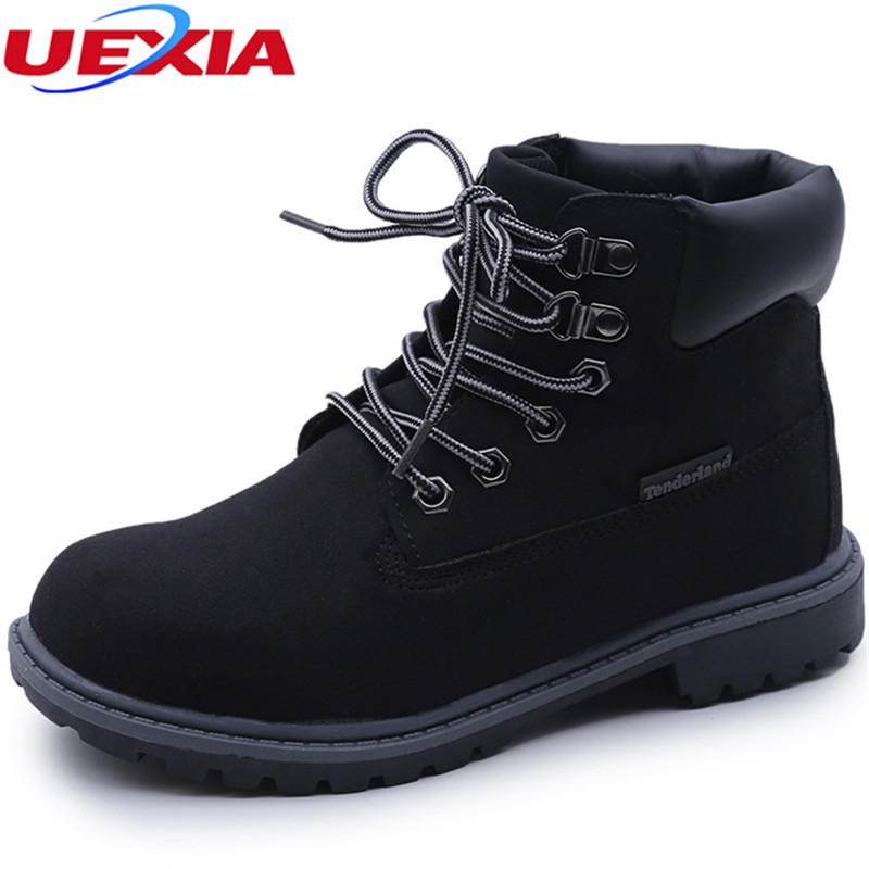Fashion Ankle Boots Lace Up Plus Size Flats Casual Snow Martin Boots Women Shoes Ladies Oxford Footwear zapotos mujer<br>