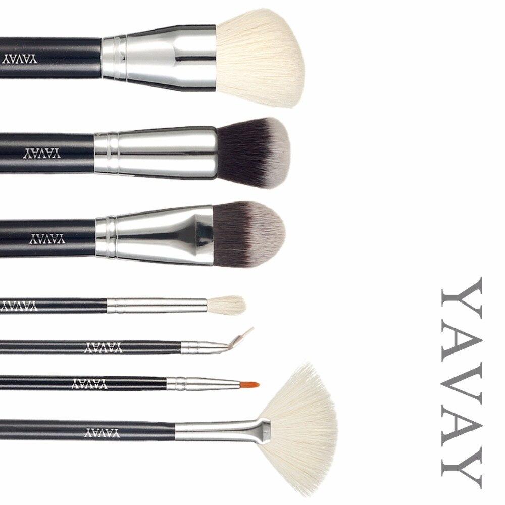 YAVAY Brand new Extra makeup Brushes set make up Kit powder foundation fan eyeshadow eyeliner professional high quality brush<br>