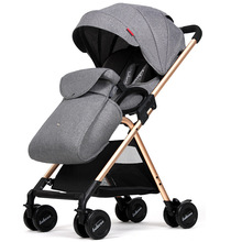Lightweight Baby Strollers poussette Folding Prams For Newborn Portable Baby Pushchair bebek arabasi Children Carriage Buggy(China)