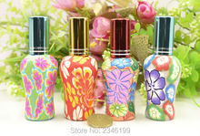 10ML 30pcs/lot Chinese Style Fimo Perfume Bottle, Creative Little Gift, Aromatherapy Hang Decoration, Festival Charming Prensent(China)