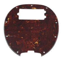 KAISH  Bass Pickguard MusicMan Stingray MM4 Scratch plate for  Music Man MM2 4 String Guitar Parts Vintage Tortoise