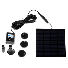 High Quality Solar-Powered Pump Brushless DC Solar Power Fountain Pool Water Pump Garden Plants Watering Kit solar pond pump kit(China)