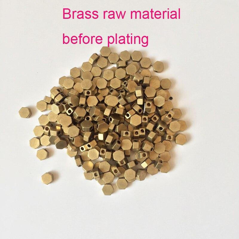 brass raw