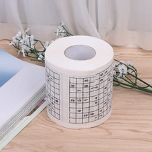 funny fun toilet paper toilet roll for sudoku