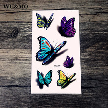 10.5x6cm New sex products Design Fashion Temporary Tattoo Stickers Temporary Body Art Waterproof Tattoo Pattern RC2206 WU&MO