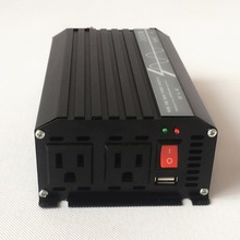 300W Pure Sine Wave Car Power Inverter Peak Power 600W 12V/24V DC to 100V/110V/120V AC 60HZ Off Grid with USB Port(China)