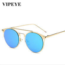 New Vintage Sunglasses Men Popular Logo Fashion Metal Sunglasses Wholesale Price Confortable Sun Glasses For Men And Women(China)