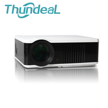 ThundeaL 2000Lumens LED106 LED Projector HD LCD 3D Home Theater Projektor Proyector  HDMI VGA USB AV TV PC Projectors Beamer
