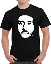 Cool Colin Kaepernick Big Silhouette Take A Knee Protest T Shirt Men T Shirt Print Cotton Short Sleeve T-Shirt Top Tee(China)