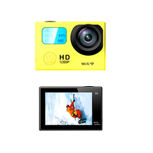 High Cost Performance Mini waterproof Action Camera H3R H3 WIFI remote Control 1080P 25fps Sports Camera