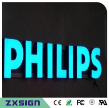 Factory Outlet Outdoor front illuminated Acrylic letters/signs, face lit channel letters, led box letters(China)