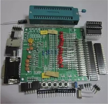 DIY the learning board kit suit the parts 51/AVR microcontroller development board learning board STC89C52
