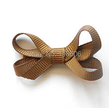 Sell 200pcs Turftan Itty Bitty Twisted Hair Bows Dainty Hairbow Clippie  Free shipping