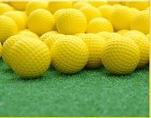 Factory outlet dedicated indoor golf soft ball golf PU balls(China)