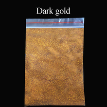 Collorful glitter dark gold applied in printing ink paint cosmetics plastic leather handicrafts ornaments toys coating